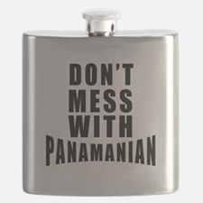 Don't Mess With Panama Flask