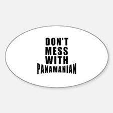 Don't Mess With Panama Decal
