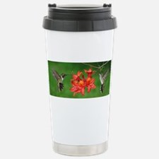 Unique Bird flowers Travel Mug