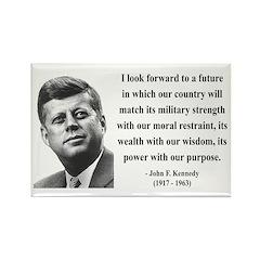 John F. Kennedy 13 Rectangle Magnet (10 pack)