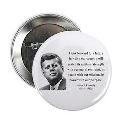 "John F. Kennedy 13 2.25"" Button (10 pack)"
