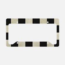 Checkered Flag License Plate Holder