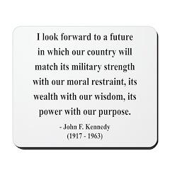John F. Kennedy 13 Mousepad