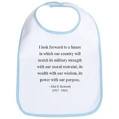 John F. Kennedy 13 Bib