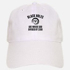 Black Holes Baseball Baseball Cap