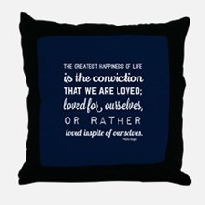Gift for Him Love Poem Throw Pillow