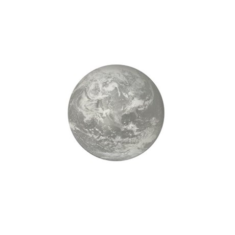 B&W Earth Mini Button