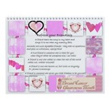 Breast cancer Wall Calendars