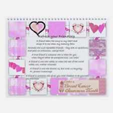 Friendship Wall Calendar
