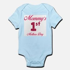 Mommy's first mothers day Infant Bodysuit