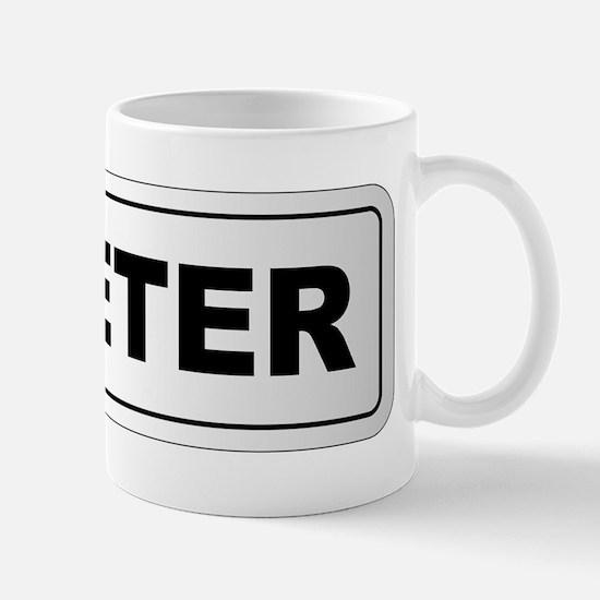 Exeter City Nameplate Mugs