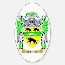 Sweeney Sticker (Oval 10 pk)