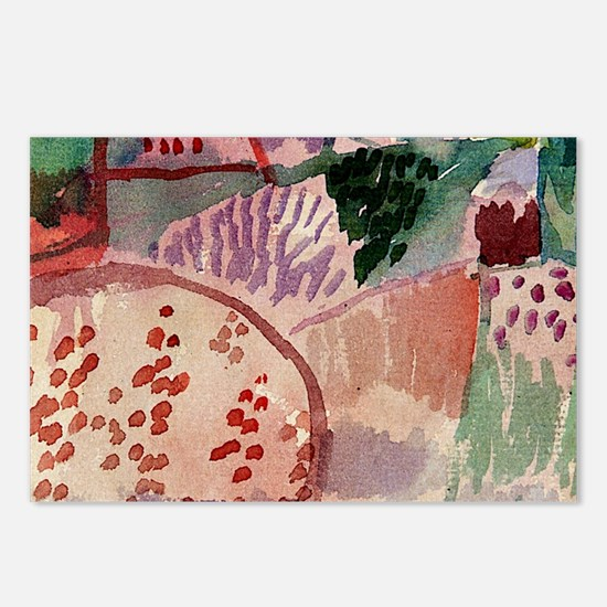 Unique Art of Postcards (Package of 8)
