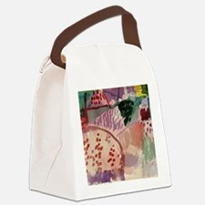 Cute Paul Canvas Lunch Bag