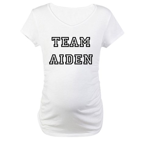 TEAM ALEJANDRO Maternity T-Shirt