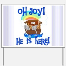 Noah's Ark It's a Boy Yard Sign