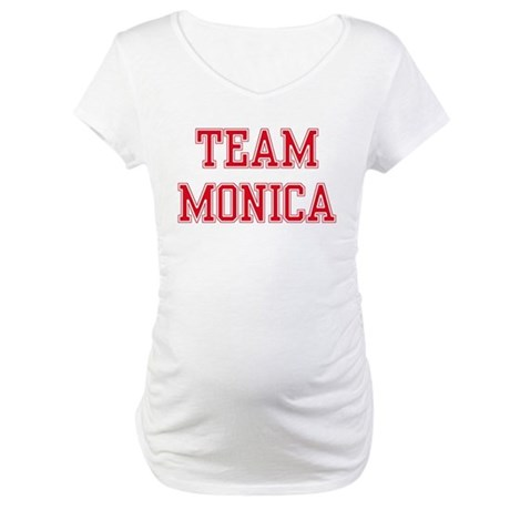 TEAM MONICA Maternity T-Shirt