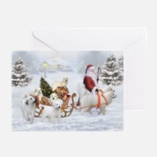 Great Pyrenees Christmas Card S Greeting Cards