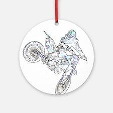 """Flyin High Ghost"" Ornament (Round)"