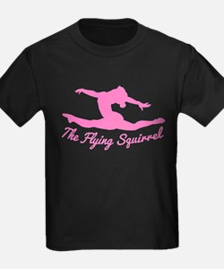 Tshirts-Girl-Solid-Pink T-Shirt
