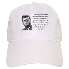 John F. Kennedy 15 Cap
