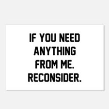 Reconsider Postcards (Package of 8)
