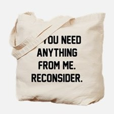 Reconsider Tote Bag