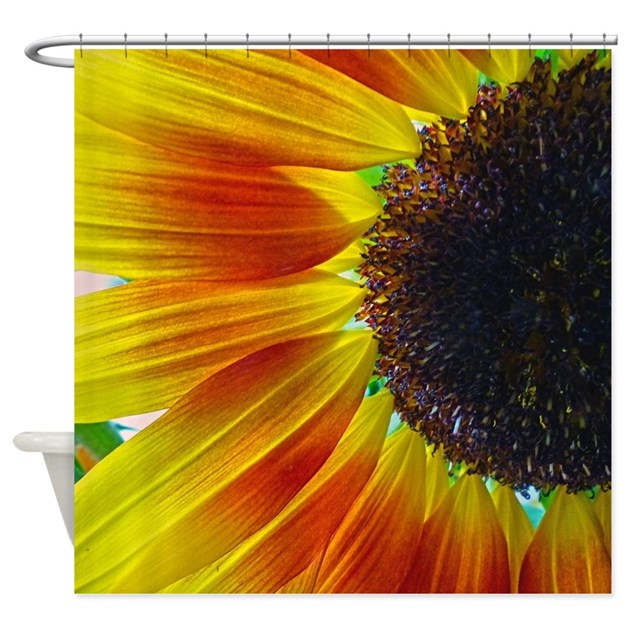 Sunflower Shower Curtain By FrankieCat