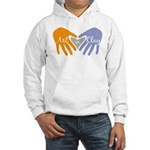 Art in Clay / Heart / Hands Hooded Sweatshirt