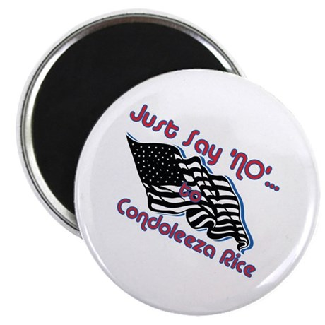 """No Rice 2.25"""" Magnet (10 pack)"""