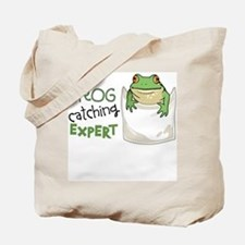 Frog Catching Expert Tote Bag