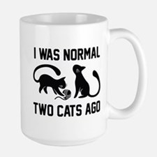 I Was Normal Two Cats Ago Mug