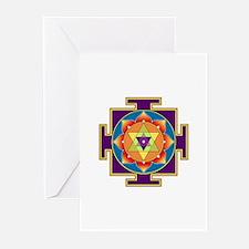 Sri Ganesha Yantra Greeting Cards