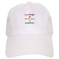 Lines Lose Weight Baseball Cap