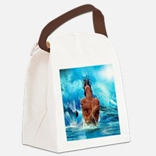 Sexy Mermaid In Water Canvas Lunch Bag