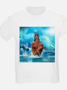 Sexy Mermaid In Water T-Shirt