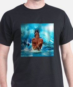 Sexy Mermaid In Water T-Shirt