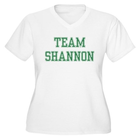 TEAM SHANNON Women's Plus Size V-Neck T-Shirt