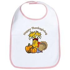 Happy Thanksgiving Pumpkins Bib