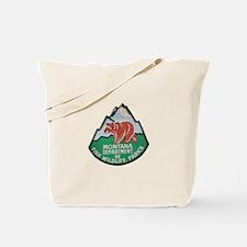 Montana Game Warden Tote Bag