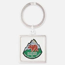 Montana Game Warden Keychains