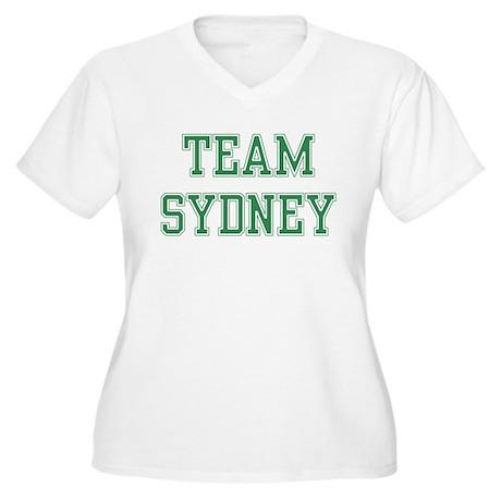 TEAM SYDNEY Women's Plus Size V-Neck T-Shirt