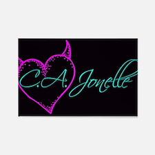 C.A. Jonelle Logo Magnets