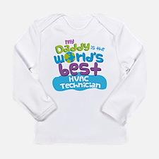 HVAC Technician Gifts f Long Sleeve Infant T-Shirt