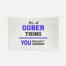 It's GOBER thing, you wouldn't understand Magnets