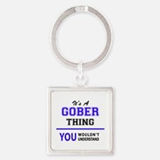 It's GOBER thing, you wouldn't understan Keychains