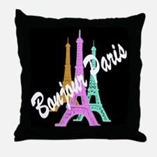 PARIS AMORE Throw Pillow