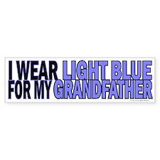 I Wear Light Blue For My Grandfather 5 Bumper Sticker