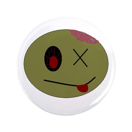 """zombie one 3.5"""" Button"""
