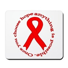 Red Hope Mousepad